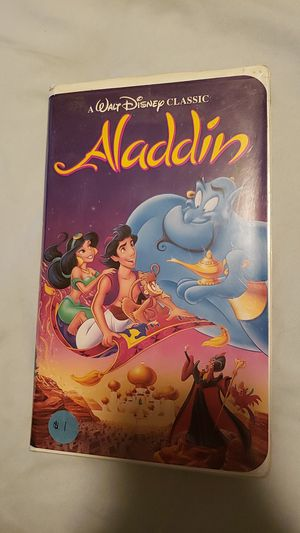 Walt Disney Aladdin for Sale in Tacoma, WA
