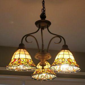 Tiffany 3 Light Chandelier for Sale in Largo, FL