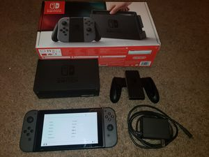 Nintendo switch with dock and joycon grip for Sale in Carrollton, TX