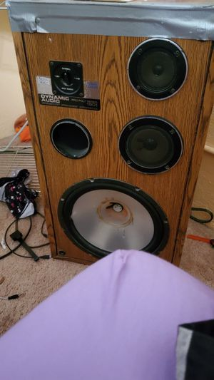 Technics stereo receiver n Dynamic Audio pro design speakers for Sale in Pearl City, HI
