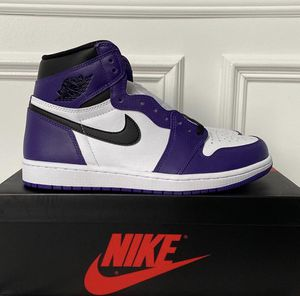 Jordan 1 Court Purple 2.0 😈 for Sale in RAISINVL Township, MI