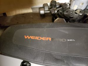 Weider weights and bench for Sale in Norfolk, VA