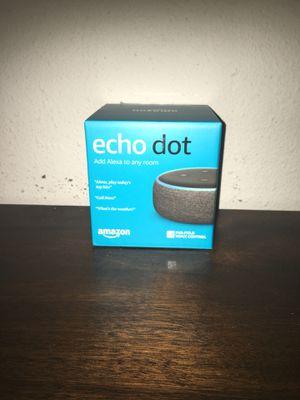 Echo Amazon Alexa for Sale in Santa Ana, CA
