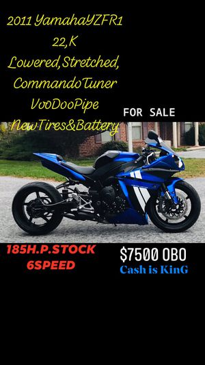 2011 Yamaha YZF R1 Motorcycle for Sale in Fayetteville, PA