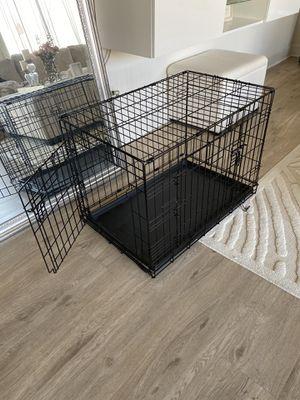Medium dog crate for Sale in Newport Beach, CA