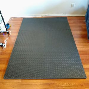 """Exercise Mat 4x6 Feet 3/4"""" EVA Foam Protective Flooring Gym Stretching for Sale in Santa Monica, CA"""