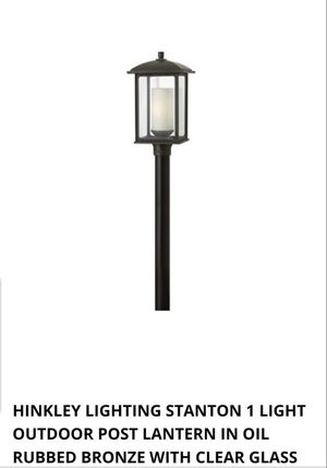 Light post topper for Sale in Rockville, MD