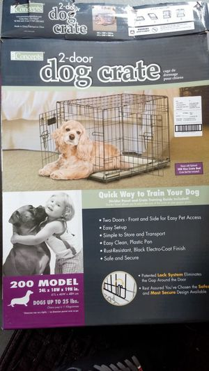 """Dog Crate / kennel 24""""L x 18""""W x 19""""H for Sale in Columbus, OH"""