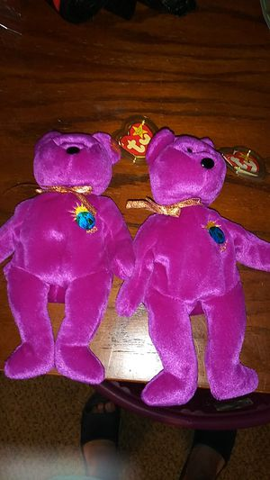 Extremely rare Ty Beanie Babies Millennium Edition for Sale in Wichita, KS