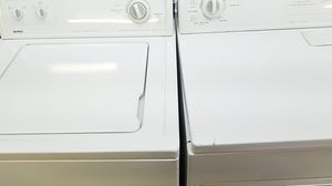Washer and dryer set Kenmore gas dryer for Sale in Dearborn, MI