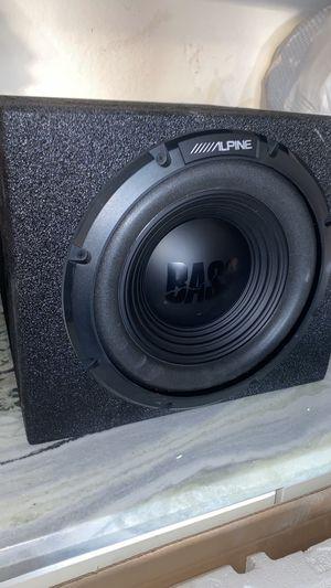 """12 alpine, probox with planet audio amp 1500 watts for Sale in Carrollton, TX"