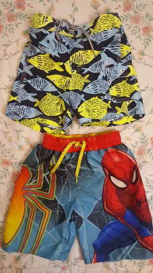 BOYS SWIM SHORTS! 3T AND 4T// LIKE NEW // SPIDERMAN for Sale in Las Vegas, NV