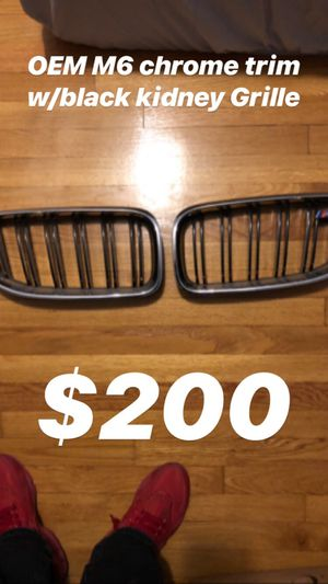BMW OEM M6 Grille for Sale in Boston, MA