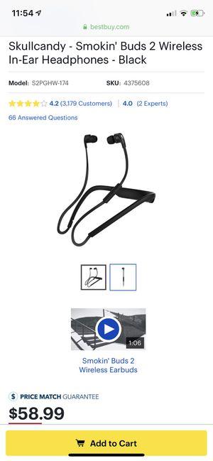 SkullCandy Wireless earbuds for Sale in Miami, FL