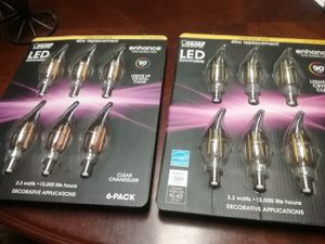 40w replacement LED bulbs ........ 6pach NIB for Sale in Bel Air, MD