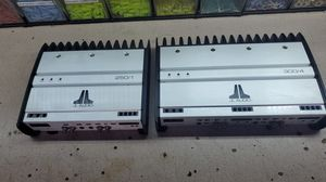 JL Audio Amps matching 4 Channel and 2 Channel for Sale in Elk Grove, CA