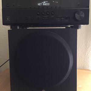 Yamaha AV Receiver & Speakers & Subwoofer for Sale in Las Vegas, NV