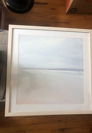 Beach print with frame for Sale in San Diego, CA