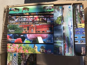 PUZZLES 🧩 500 750 and 1000- UNOPENED for Sale in Henderson, NV
