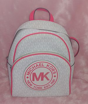 Michael Kors signature/ logo backpack for Sale in San Diego, CA