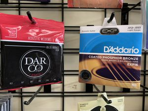 Guitar strings 6 and 12 for Sale in Colton, CA