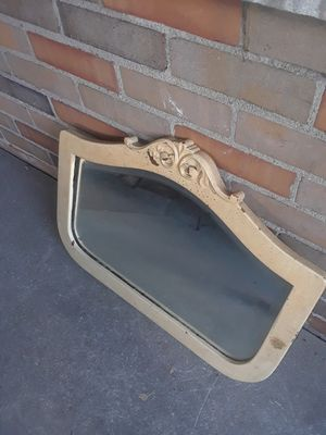 Antique wood frame mirror for Sale in Indianapolis, IN