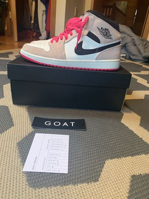 Air Jordan 1 Mid SE 'Crimson Tint' Size 11 for Sale in Washington Crossing, PA