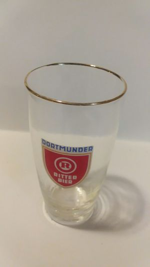 DORTMUNDER RITTER BIER GOLD RIM GLASS for Sale in Wilmington, DE