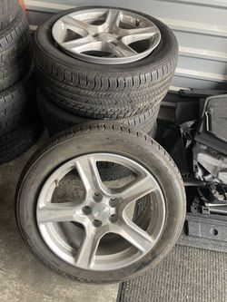 Brand new camaro wheels and tires sz 18 for Sale in Renton,  WA
