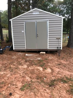 Metal 12' x 16' shed for Sale in Lawrenceville, GA