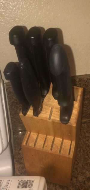 Knives and knife stand for Sale in Pittsburg, CA
