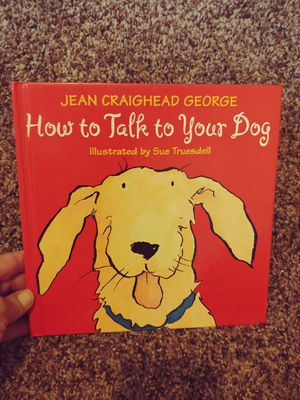 How To Talk To Your Dog hardcover book for Sale in Houston, TX