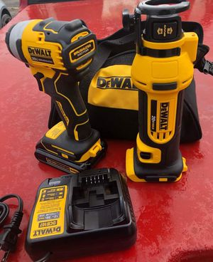 Drill drive 1/4 and couter drywall 250 all new for Sale in Fort Wayne, IN
