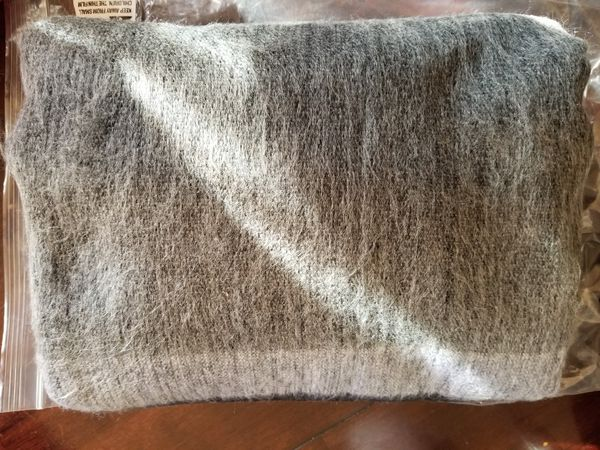 Authentic Alpaca Fur Blanket