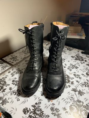 Frye Leather Combat Boots Size 8.5 for Sale in Addison, IL
