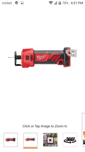 Brand New in box. Milwaukee M18 18-Volt Lithium-Ion Cordless Drywall Cut Out Tool (Tool-Only) for Sale in Austin, TX