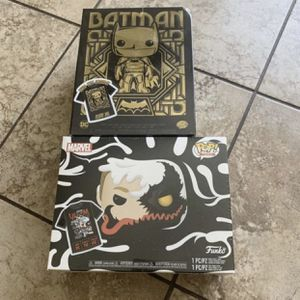 Anti-Venom & Batman Pop-tee bundles for Sale in Orange, CA