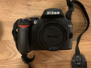 Nikon DS 40 - two lenses and bag for Sale in New York, NY