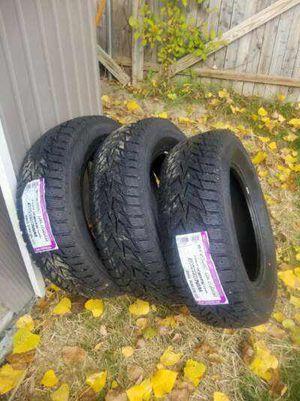 4 new Nexen Winguard Winspike Studable Winter Snow tires—-245/65R17 107T for Sale in Burlington, VT
