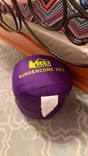 Kindercone REI CO OP sleeping bag for kids for Sale in Round Rock, TX