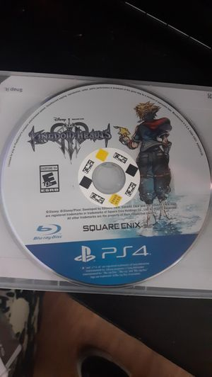 Kingdom Hearts 3 - PS4 for Sale in Denver, CO