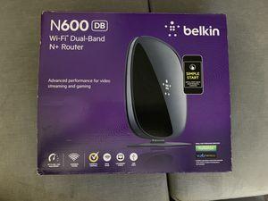 Belkin N600 WiFi Dual-Band N+ router for Sale in Miami, FL