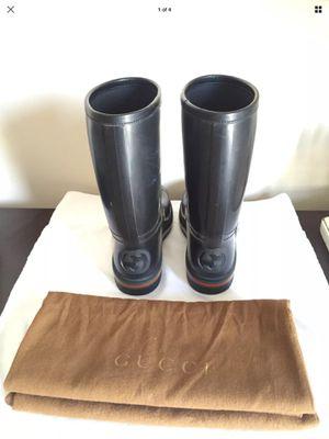 Authentic Gucci Rain Boots Size 8G for Sale in Philadelphia, PA