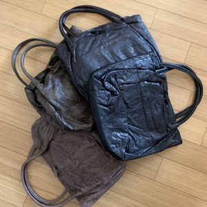 wholesale lot 25 slouchy Pleated Goat leather Totes New with tags for Sale in New York, NY