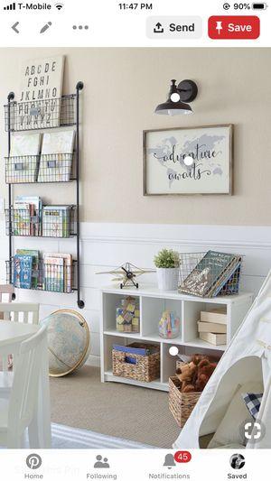 Birch Lane magazine/book wall shelf for Sale in Snohomish, WA
