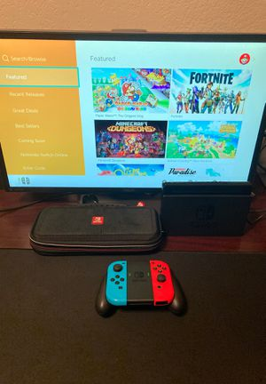 Nintendo Switch Console with carrying case for Sale in Mesa, AZ
