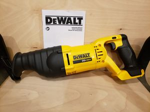 DEWALT 20V MAX RECIPERCATING SAW - NEW for Sale in Livonia, MI