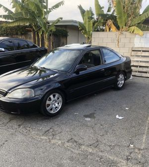 2000 Honda Civic si turbo clean title for Sale in Fullerton, CA