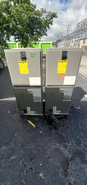 used ac units (Air Handlers Both pieces) for Sale in Fort Lauderdale, FL