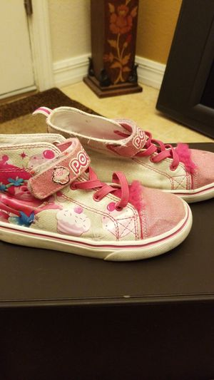 Trolls Poppy Shoes Child Size 13 for Sale in Lakeland, FL